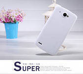 Чехол бампер  Nillkin Super Frosted Shield для телефона смартфона Lenovo S920 white белый