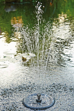 Плавающий фильтр-фонтан PondoClear Island 3000 для пруда, водопада, водоема, каскада, фото 2
