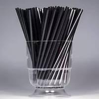 Трубочка 125мм/200шт черная для мартини
