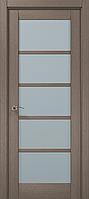 Двери межкомнатные Папа Карло ML-15 Дуб серый брашированный