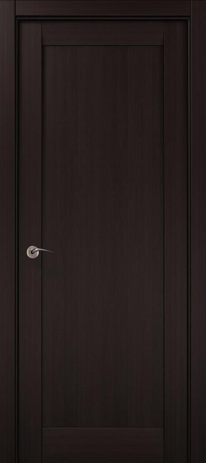 Двери межкомнатные Папа Карло ML-00F Венге