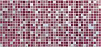 """Стеновая панель из ПВХ Мозаика """"Розовый микс"""""""