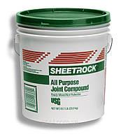 Шпаклевка финишная готовая Шитрок (Sheetrock) ведро 25 кг.