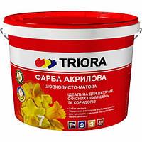 Интерьерная краска шелковисто-матовая Triora, 3 л