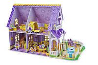 """3D пазлы """"Фиолетовый домик"""""""