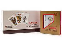 """КАРТЫ ИГРАЛЬНЫЕ ПЛАСТИКОВЫЕ """"ANGEL"""" (10Х9Х2,3 СМ)"""