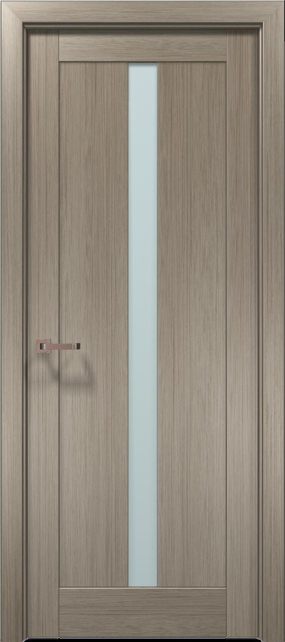 Двери межкомнатные Папа Карло Optima-01 Клен серый