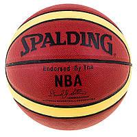 Мяч баскетбольный Spalding NBA AuthenticDavidSpein SPL-25569-12
