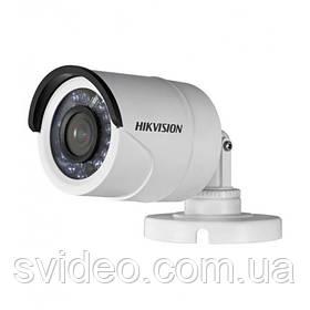 Turbo HD 1.0 Мп видеокамера DS-2CE16C0T-IR  3.6 мм, угол обзора 71°