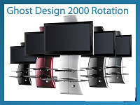 Стійка на телевізор (столик) GHOST DESIGN 2000 Rotation