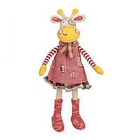 Игрушка со звуком Жираф в платье
