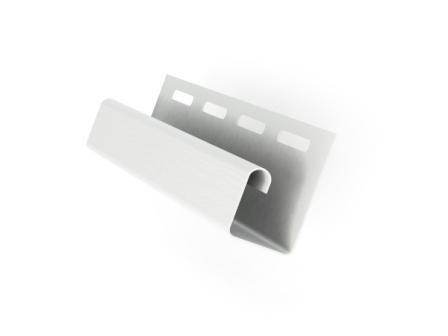 J-профиль белый для монтажа софита