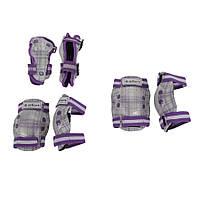Защита для роликов детская ZELART CANDY фиолетовая S-3-7лет