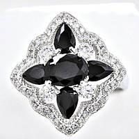 Необычайное кольцо XP 12409-черный-19