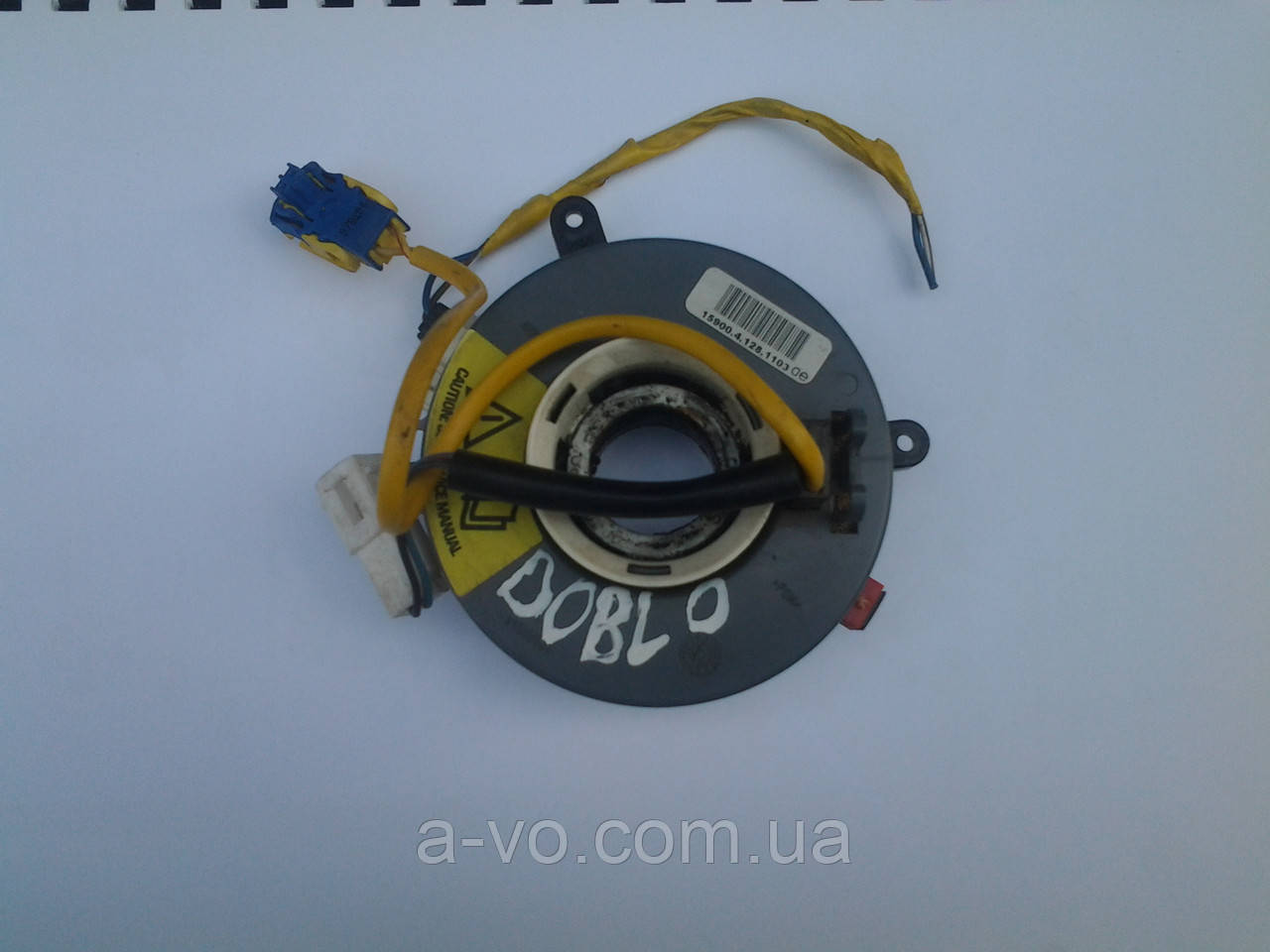 Шлейф AIRBAG кольцо подрулевое Fiat Doblo 1592170580724 59001044 00400089 00400088