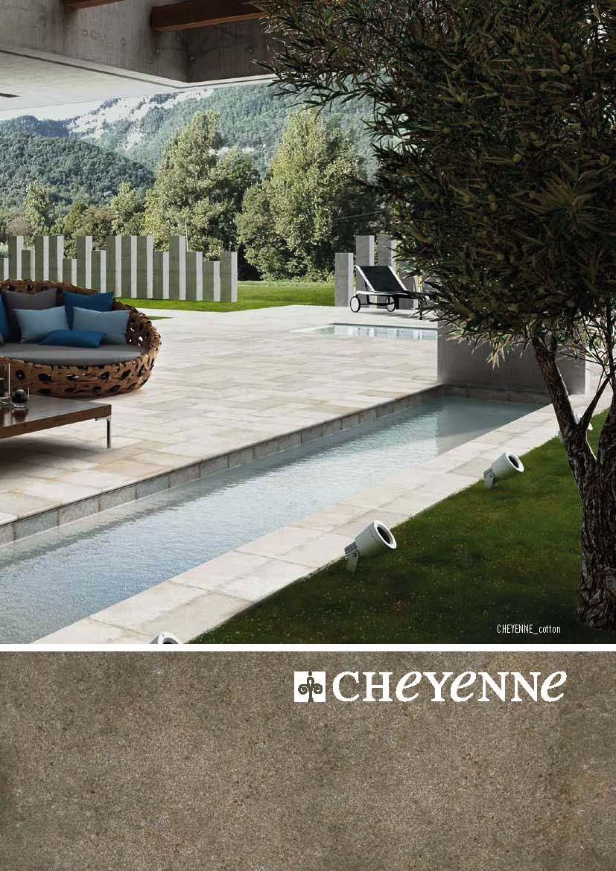 Керамогранитные ступени, керамогранит для террас Mayor Ceramica. Коллекция CHEYENNE.