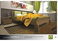 Кровать деревянная Ретро -2