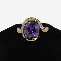 Выразительное кольцо Xuping  12640-фиолетовый-20