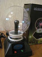 Плазменный шар  12 см, оригинальный ночник, шар молния