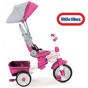 Детский велосипед Perfect Fit 4 в 1 Trike Pink Little Tikes 639654, фото 2