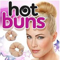 """Валики на кнопках для объемной прически """"Hot buns"""""""