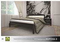 Кровать деревянная Корона -3
