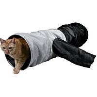 Туннель тканевый для кошек Trixie, 115см/d 30см