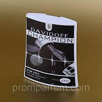 Мужская туалетная вода Davidoff Champion в кассете 50 ml (трапеция) ASL