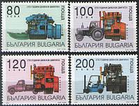 Болгария 1997 - дизельные двигатели - MNH XF