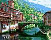 Картины по номерам 40×50 см. Прекрасный вид Художник Парк Сунг Сам