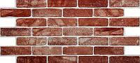 """Стеновая панель из ПВХ Кирпич """"Старый красный"""""""