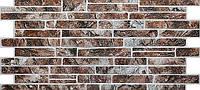 """Стеновая панель из ПВХ Камень """"Сланец коричневый"""""""