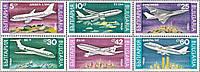 Болгария 1990 - авиация - MNH XF