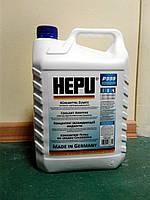 Антифриз HEPU G11 синий (-80С) 5л