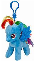 Мягкая игрушка-брелок Ty Rainbow Dash 15 см (41105)