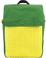 Рюкзак Upixel Fliplid зелено-желтый (WY-A005F)