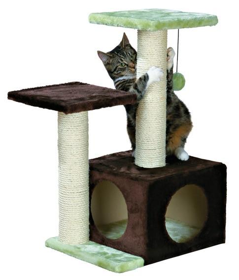 Когтеточки-домики для кошек
