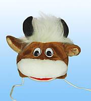 Детская маскарадная шапочка-маска Бычка
