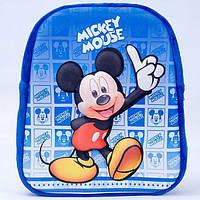 """Рюкзак м'як.""""Мікі Маус"""" 3D"""