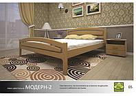 Кровать деревянная Модерн -2