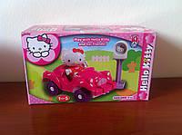 Конструктор для девочек Hello Kitty машина