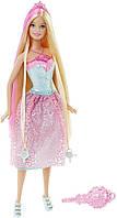 Серия кукол Сказочно - длинные волосы, Барби - Розовая, Barbie Endless Hair Kingdom Princess, Pink