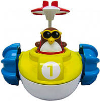 Игрушка для ванны Water Fun Пингвинчик на водном велосипеде (23206)