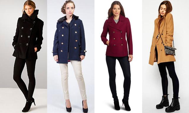 С чем одеть пальто женское?