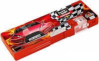 """Пенал школьный 2 отделения на магнитах для мальчика Cool For School CFS85510 """"Racing League"""" , фото 1"""