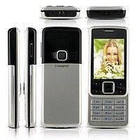 Мобильный телефон 6300 Nokia (копия), Нокиа 6300, Q630 dual sim 2 сим металлический