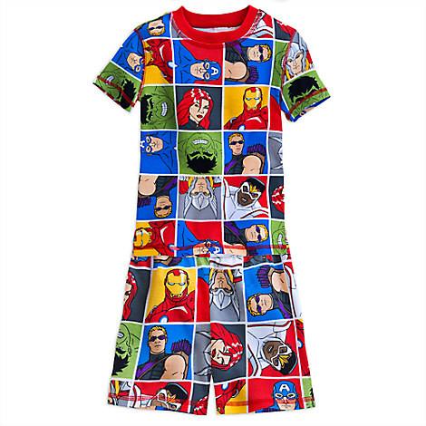 Пижама Мстители Дисней для мальчика 6 лет / Marvel Avengers Disney