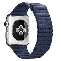 Apple Watch 42mm Leather Loop Midnight Blue L (MLHM2)