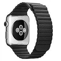 Apple Watch 42mm Leather Loop Large Black (MJY62)