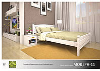 Кровать деревянная Модерн -11